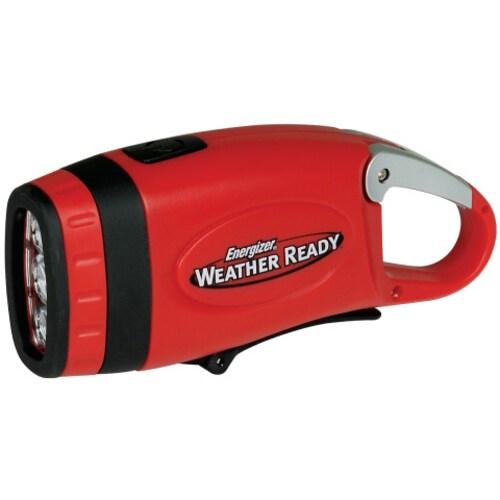 Energizer Weather Ready WRCKCCBP Carabiner Crank Light