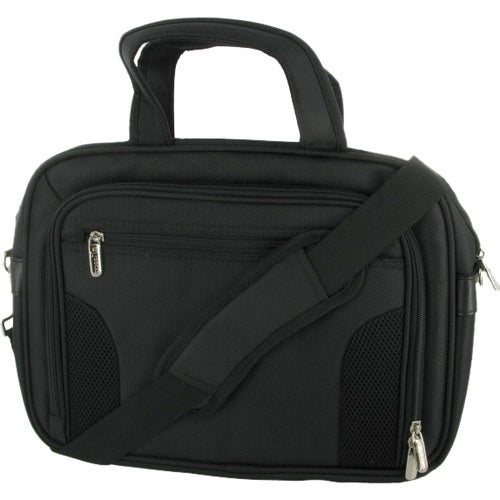 "roocase Deluxe RC-NHB10-BG10-BK Carrying Case for 11.6"" Netbook - Bla - Thumbnail 0"