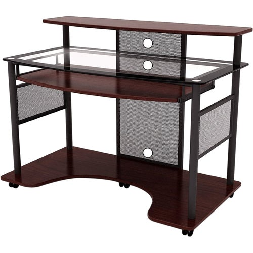 Shop Z Line Designs Cyrus Workstation Desk   Free Shipping Today    Overstock   7682900