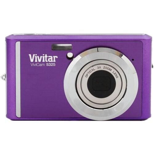 Vivitar ViviCam S325 16.1 Megapixel Compact Camera - Topaz