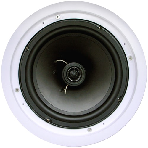 New Wave Audio IC-8S 100 W RMS Speaker - 2 Pack - White