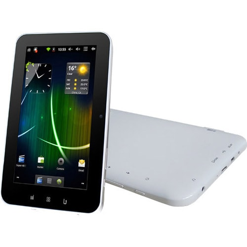 "Sungale Cyberus ID710WTA Tablet - 7"" - 512 MB 1.20 GHz - 4 GB - Andro"