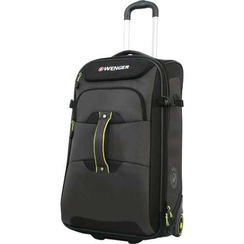 Wenger Terrain Crossing 25-inch Medium Rolling Upright Suitcase