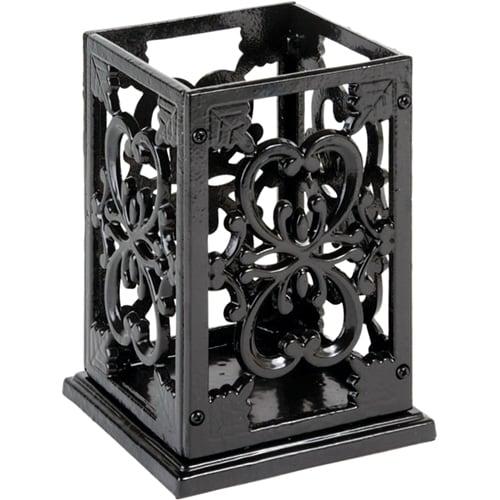 Anchor Cast Iron Utensil Holder / Black