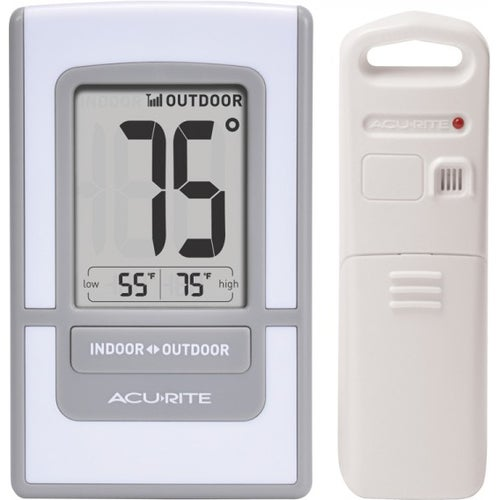 AcuRite Digital Indoor / Outdoor Thermometer 00425 - Thumbnail 0