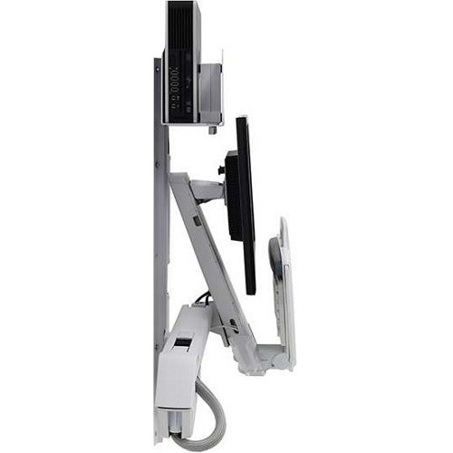 Ergotron StyleView Wall Mount for Monitor, CPU, Keyboard,...