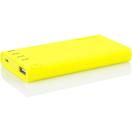 Incipio offGRID Power Bank, Charge USB Supported Devices [4000 mAh] Portable Backup Battery Pack - Yellow