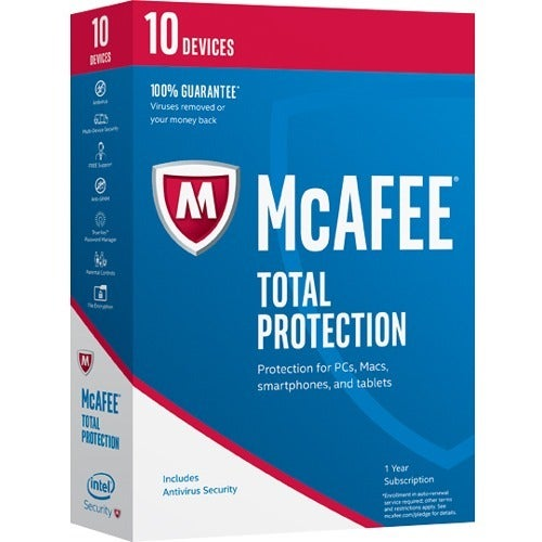 McAfee Total Protection 2017 - 10 Device