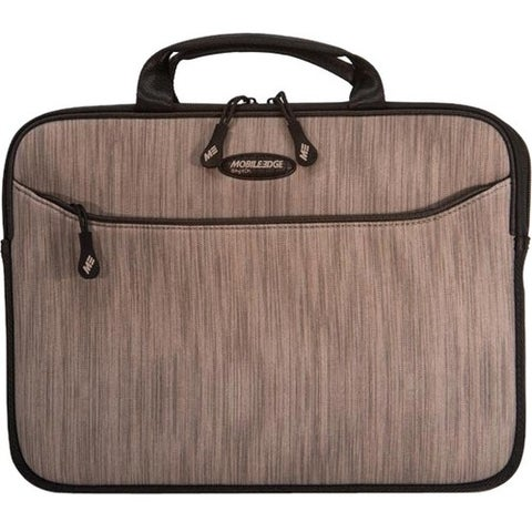 """Mobile Edge SlipSuit Carrying Case (Sleeve) for 13"""" Notebook - Silver"""