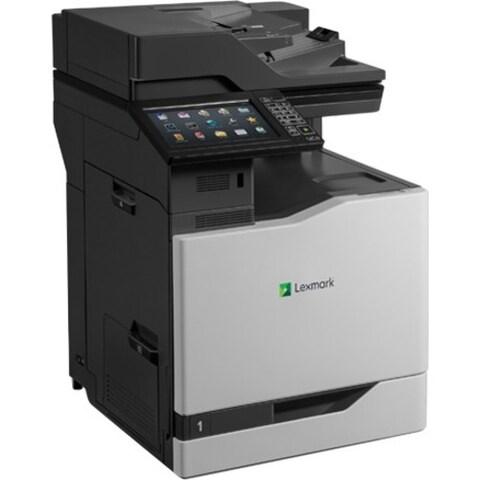 Lexmark CX825DE Laser Multifunction Printer - Color - Plain Paper Pri