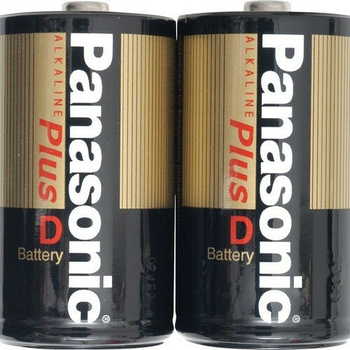 Panasonic D-Size Alkaline Plus Battery Pack