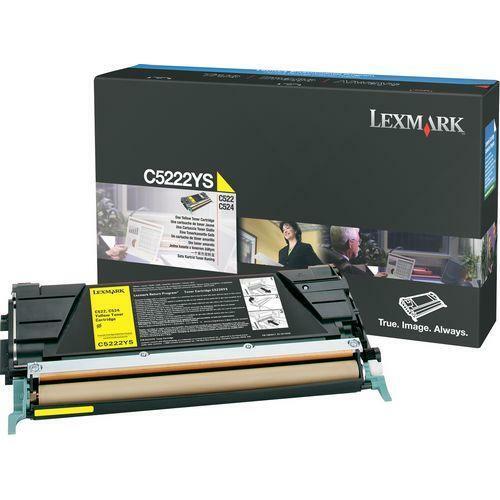 Lexmark Yellow Toner Cartridge (Single)