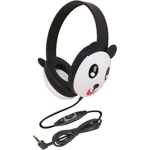Ergoguys Califone Kids Stereo/PC Headphone Panda 3.5mm Plug