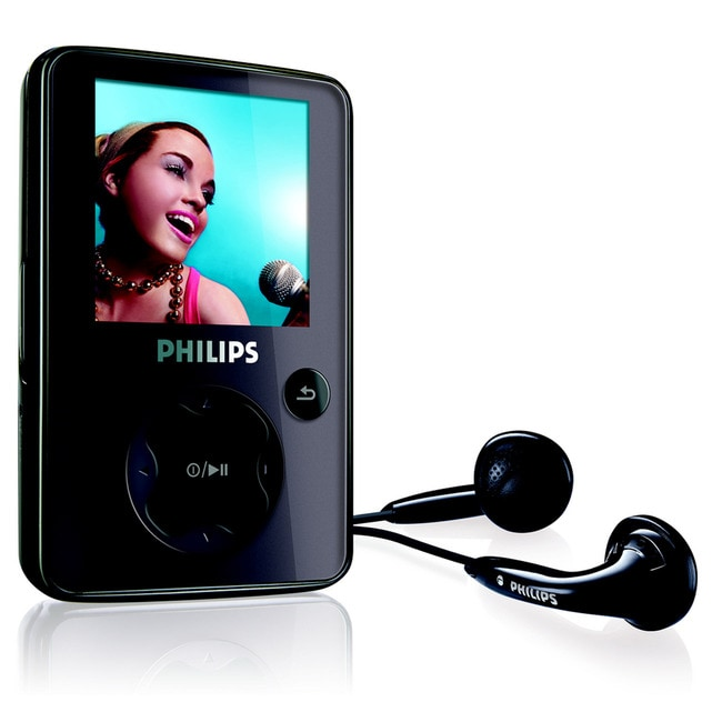 Philips GoGear SA3025 2GB Flash Portable Media Player
