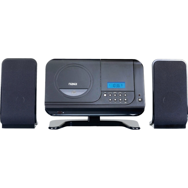 Naxa NSM-435 Micro Hi-Fi System - Black