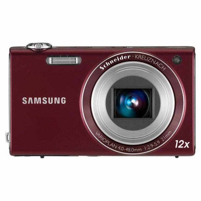Samsung WB210 14MP Burgundy Digital Camera