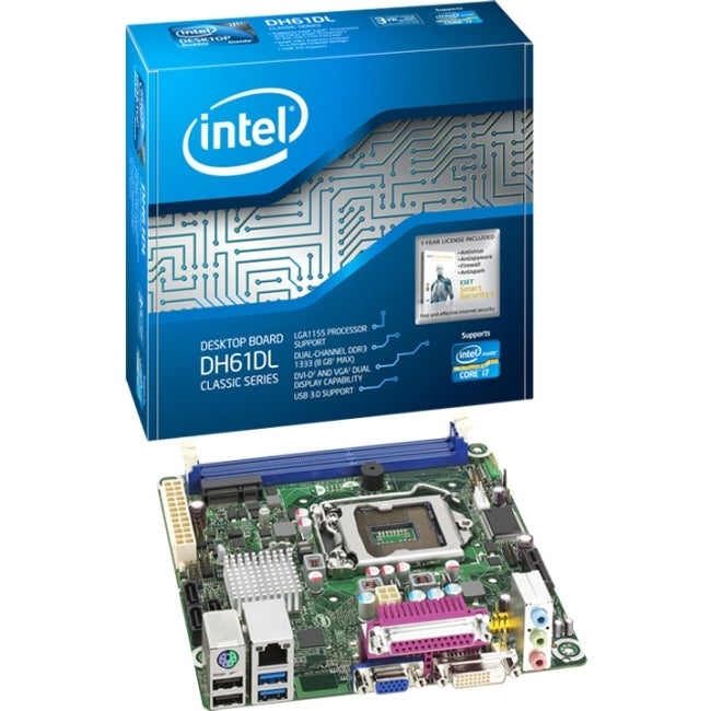 Intel Classic DH61DL Desktop Motherboard - Intel H61 Express Chipset