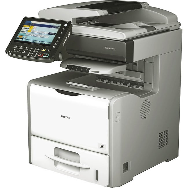 Ricoh Aficio SP 5200S Laser Multifunction Printer - Monochrome - Plai