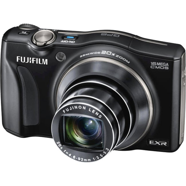 Fujifilm FinePix F770EXR 16MP Black Digital Camera
