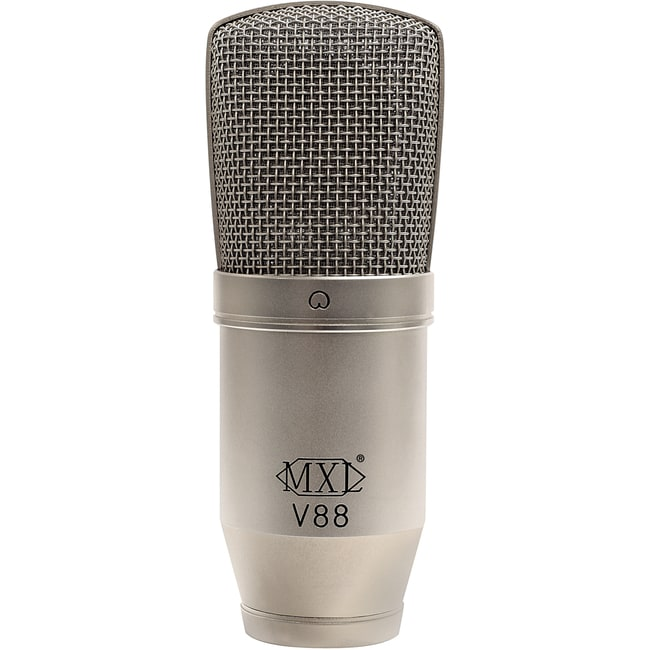 MXL MXLV88 V88 Studio Condenser Microphone Nickel