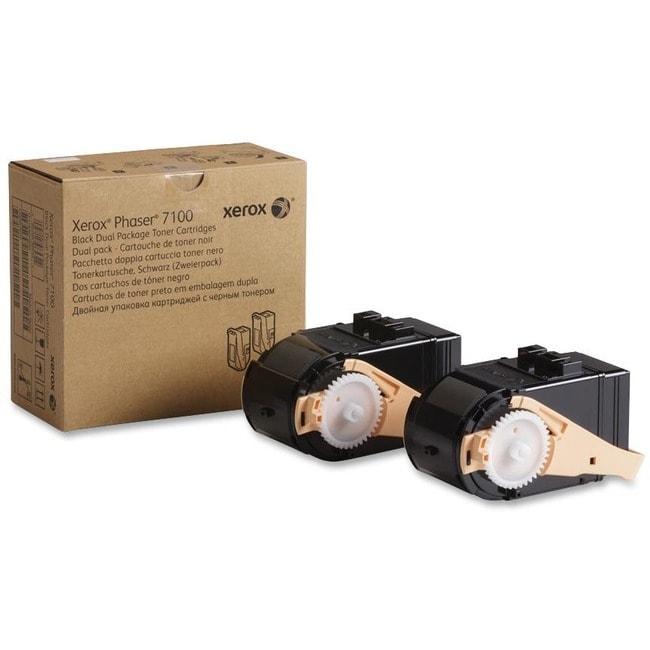 Xerox Dual Pack Toner Cartridge - Black