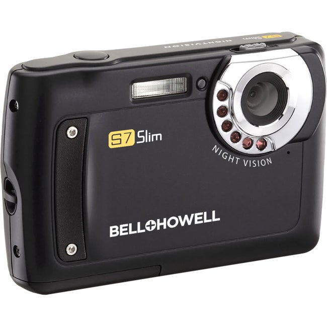 Bell+Howell S7-B 12 Megapixel Compact Camera - Black