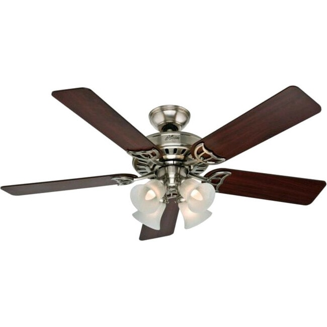 Hunter Fan Studio Series - 52 Brushed Nickel Ceiling Fan - Thumbnail 0