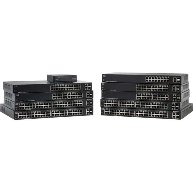 Cisco 10-port Gigabit Smart Switch, PoE