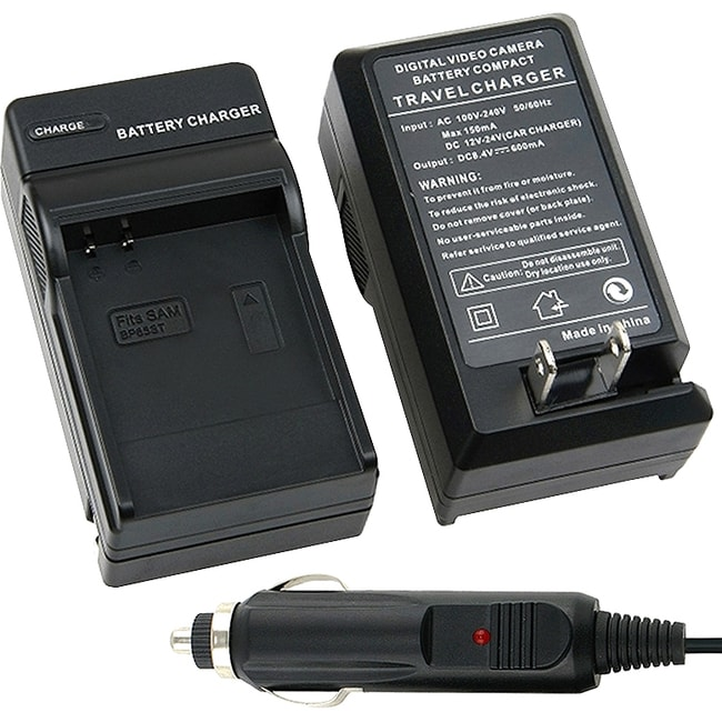 INSTEN Compact Battery Charger Set for Samsung IA-BP85S