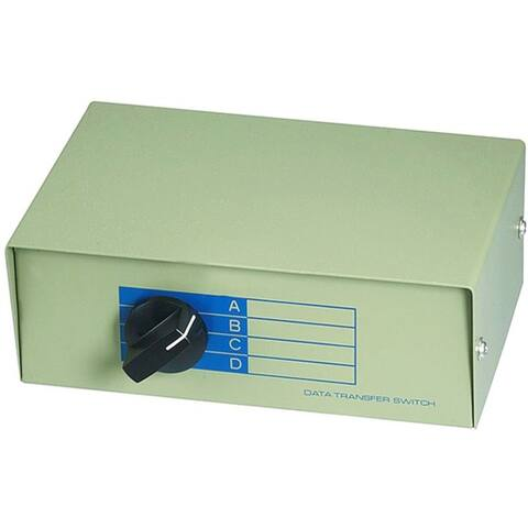 Monoprice DB25, ABCD 4 Way Switch Box