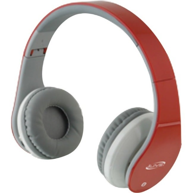 ilive bluetooth stereo headphones with microphone iahb64r free shipping on. Black Bedroom Furniture Sets. Home Design Ideas