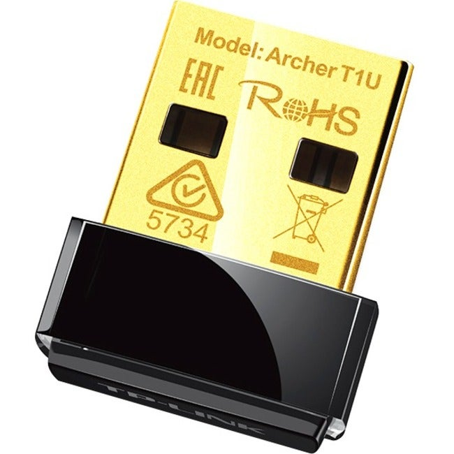 TP-Link Archer T1U Ieee 802.11ac - Wi-Fi Adapter for Desk...