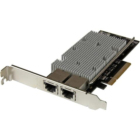 StarTech.com 10G Network Card - 2 port - NBASE-T - RJ45 Port - Intel X550 chipset - Ethernet Card - Intel NIC Card