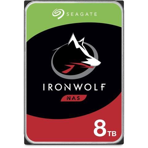 """Seagate IronWolf ST8000VN0022 8 TB Hard Drive - SATA (SATA/600) - 3.5"""" Drive - Internal"""