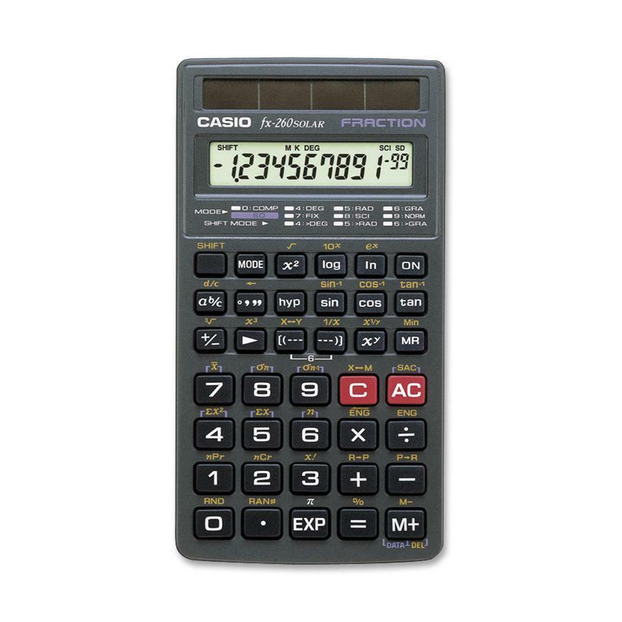 Casio FX260SOLAR Scientific Calculator