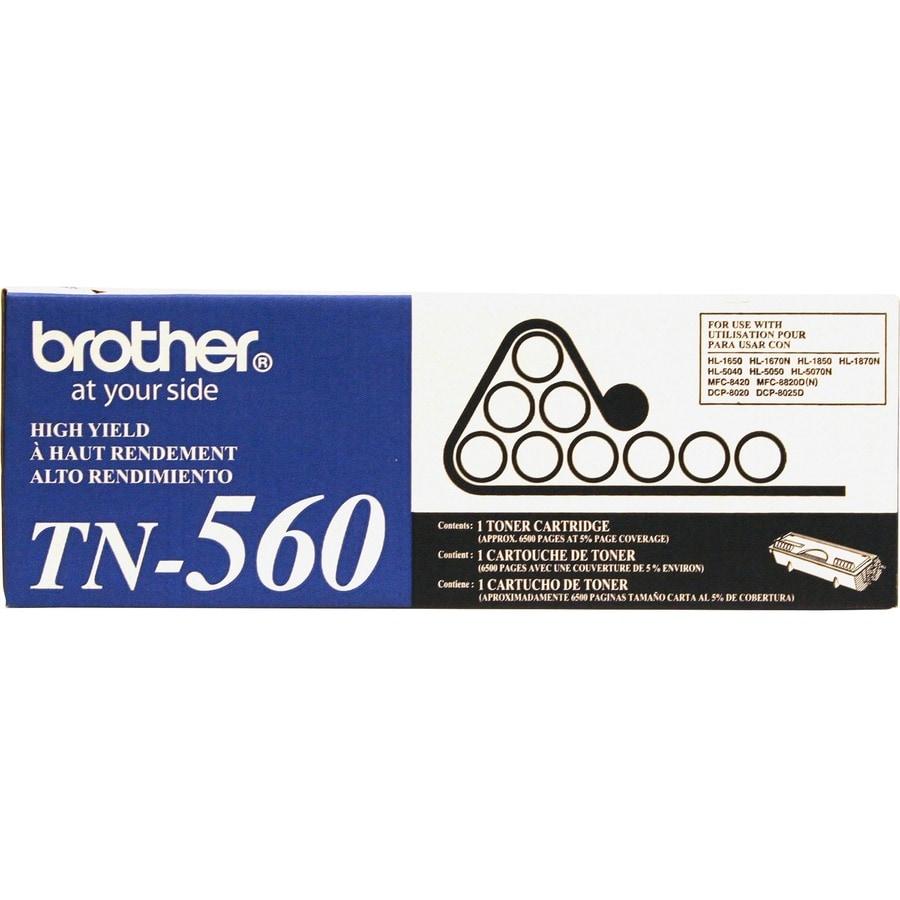 Brother TN560 Black Toner Cartridge (Brother TN560 TONR84...