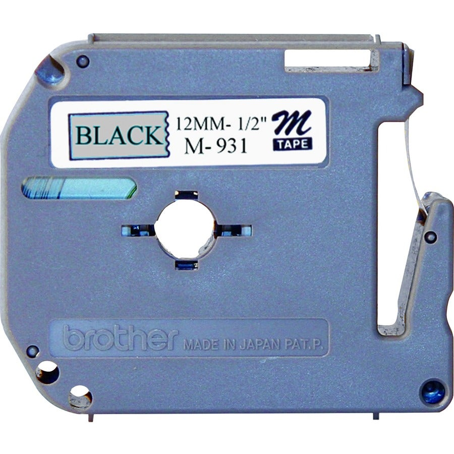 Brother M Series Non-Laminated Durable Label Tape for P-Touch Printer