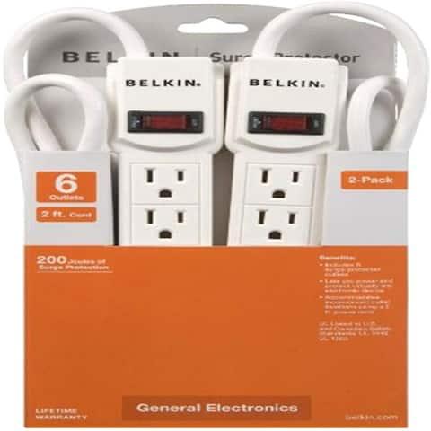 Belkin F5C048-2 6-Outlets Surge Suppressor