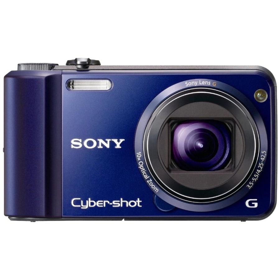 Sony Cyber-shot DSC-H70 16.1MP Blue Digital Camera