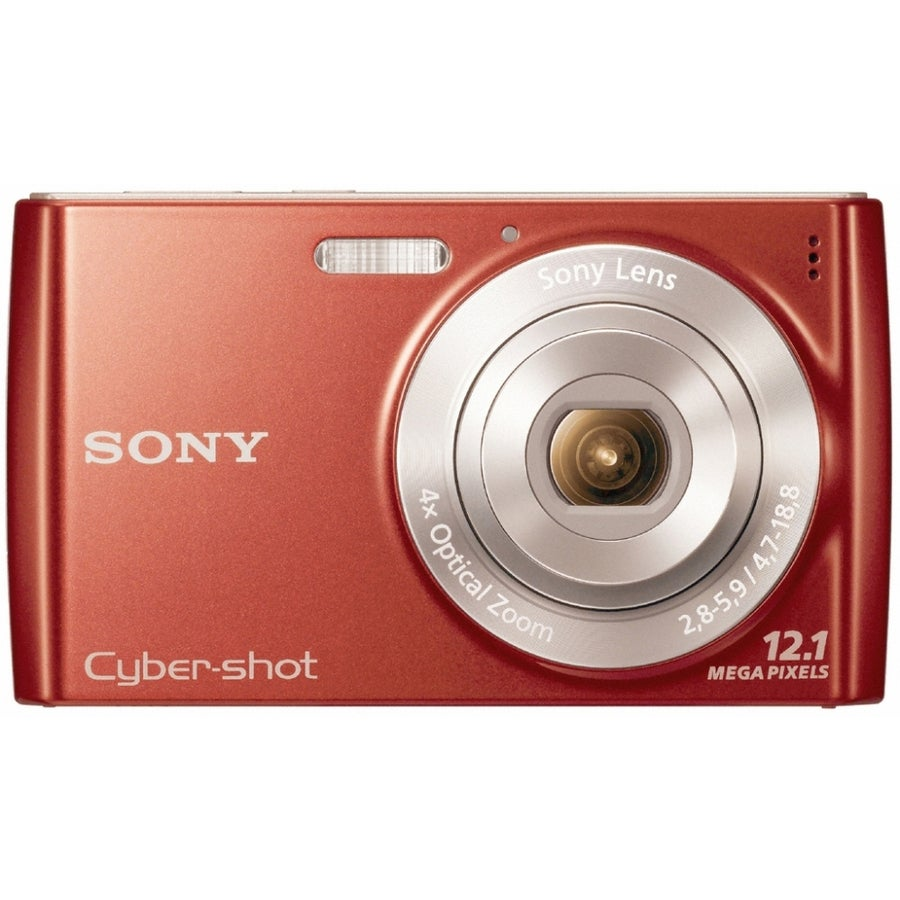 Sony Cyber-shot DSC-W510 12.1MP Red Digital Camera