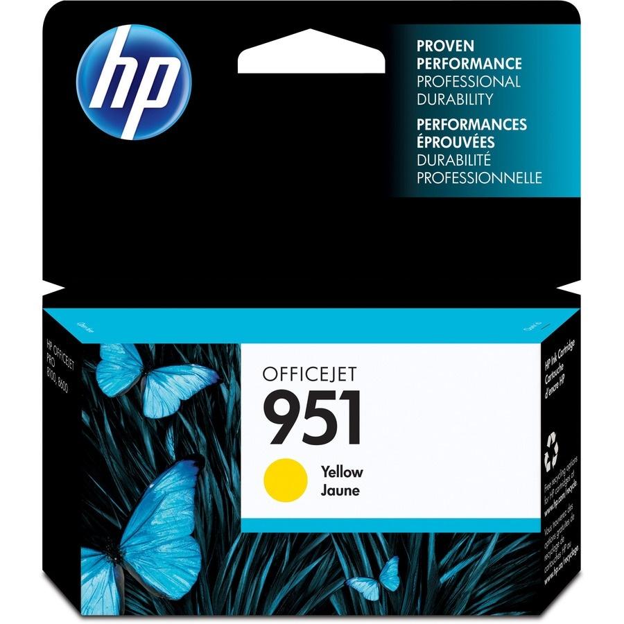 HP 951 Original Ink Cartridge - Yellow
