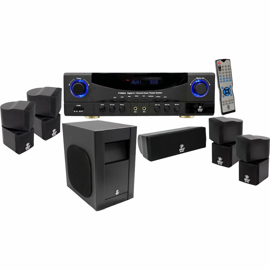 PylePro PT598AS 5.1 Home Theater System - 350 W RMS