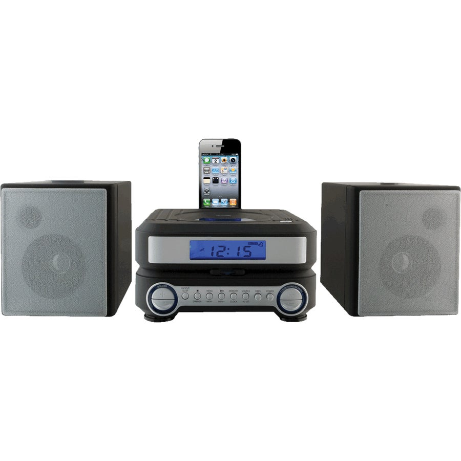 iLive IHP211B Mini Hi-Fi System - iPod Supported