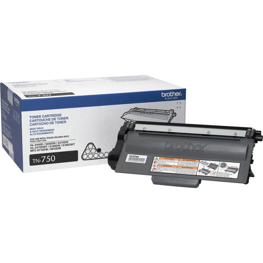 Brother TN750 Toner Cartridge - Black