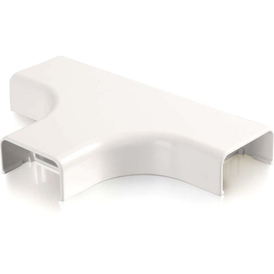 C2G Wiremold Uniduct 2900 Bend Radius Compliant Tee - White - Free ...