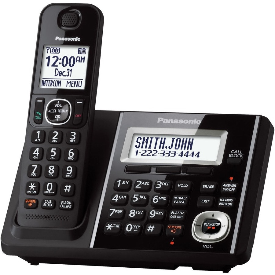 Panasonic KX-TGF340B DECT 6.0 Cordless Phone