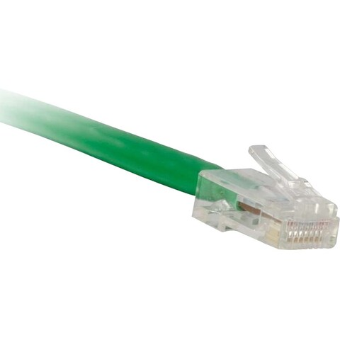 ENET Cat5e Green 2 Foot Non-Booted (No Boot) (UTP) High-Quality Netwo