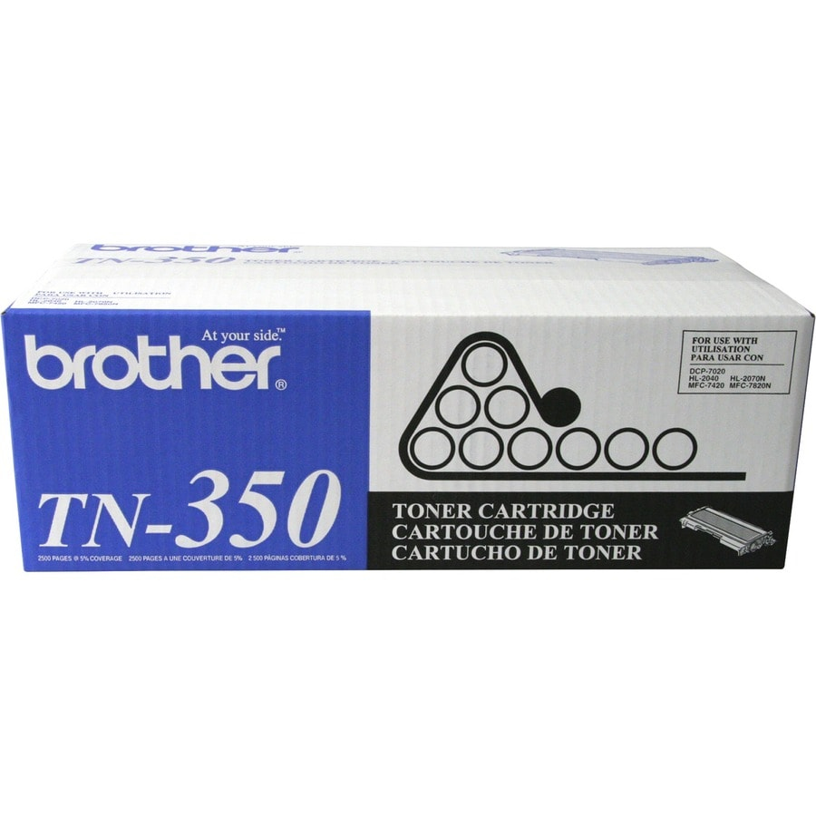 Brother TN-350 Black Toner Cartridge for Fax Machines - Thumbnail 0