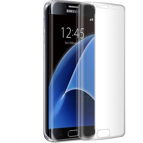 TechProducts360 Samsung S7 Edge Tempered Glass Defender Clear