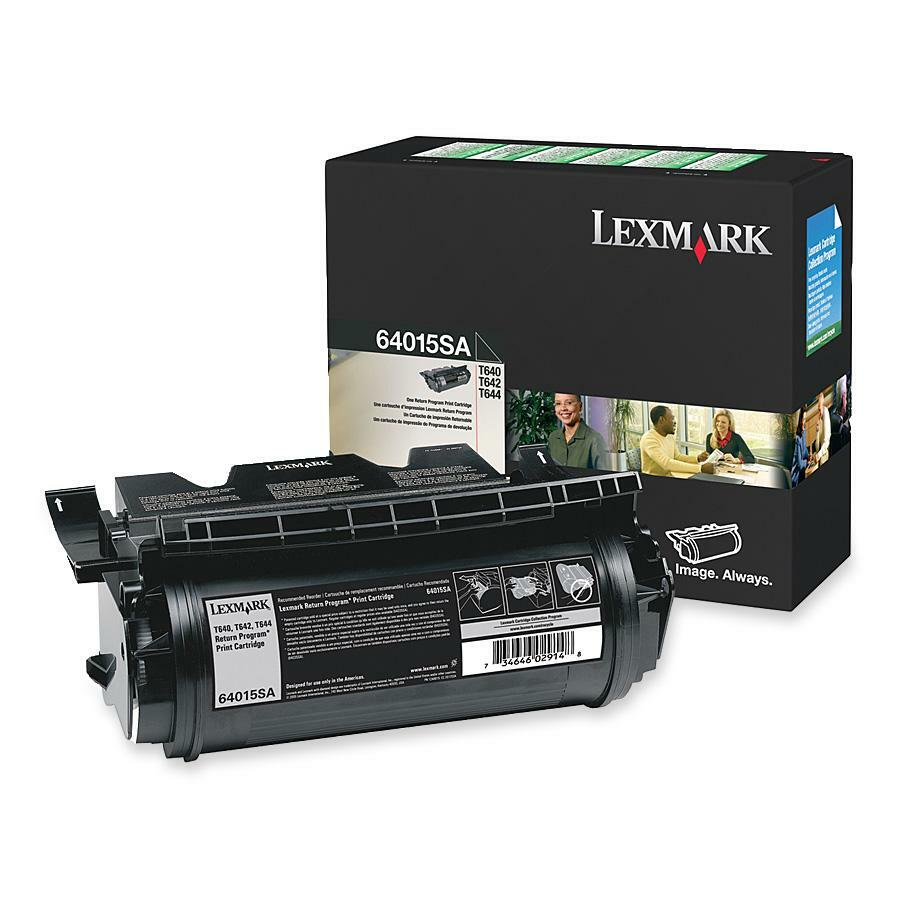 Lexmark Return Program Print Cartridge